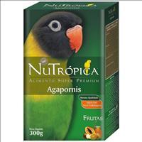 Ração Nutrópica com Frutas para Agapornis - 300gr