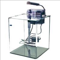 Aquário Rehau Cubo Crystal CC2530 com Filtro e Luminária - 18 Litros Aquário Rehau Cubo Crystal CC25