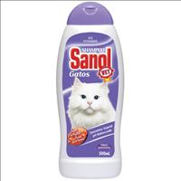 Shampoo Sanol Vet para Gatos - 500 mL