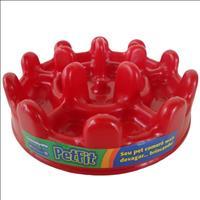 Comedouro Interativo Pet Games PetFit - Vermelho