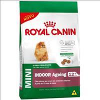 Ração Royal Canin Mini Indoor Ageing 12+ para Cães Idosos de Raças Pequenas em Ambientes Internos Ra