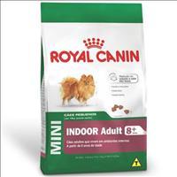 Ração Royal Canin Mini Indoor Adult 8+ para Cães Adultos de Raças Pequenas em Ambientes Internos Raç
