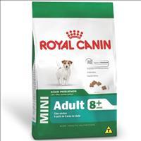 Ração Royal Canin Mini Adult 8+ para Cães Adultos de Raças Pequenas com 8 Anos ou mais - 1 Kg