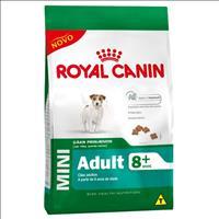 Ração Royal Canin Mini Adult 8+ para Cães Adultos de Raças Pequenas com 8 Anos ou mais - 3 Kg