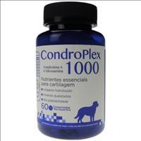 Suplemento Avert Condroplex - 60 Comprimidos Suplemento Avert Condroplex Comprimidos - 1000 mg Cães