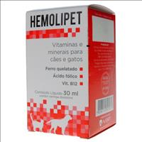 Suplemento Avert Hemolipet - 30ml