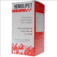 Suplemento Avert Hemolipet - 110ml