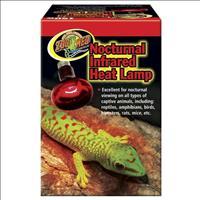 Lâmpada de Calor ZooMed InfraVermelho Nocturnal Infrared - 150W