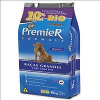 Ração Premier Pet Formula Cães Adultos Raças Grandes e Gigantes Frango - 15 + 1,5 kg