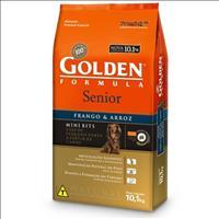 Ração Premier Golden Formula Cães Sênior Mini Bits Frango e Arroz - 10kg