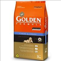 Ração Premier Golden Formula Cães Filhotes Carne e Arroz - 3kg