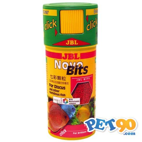 Ração JBL Novo Bits Click - 110gr