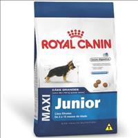 Ração Royal Canin Maxi Junior para Cães Filhotes de Raças Grandes de 2 a 15 Meses de Idade Ração Roy