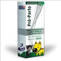 Sistema de Terapia Homeopet Auxílio ao Parto Pró-Parto - 30ml
