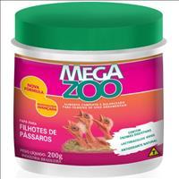Ração Papa para Filhotes de Pássaros Megazoo - 200gr