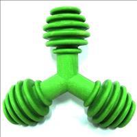 Brinquedo Triângulo de Borracha Furacão Pet - Verde Brinquedo Triângulo de Borracha Verde - Tam G