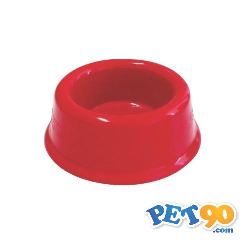 Comedouro Plástico Furacão Pet - Vermelho Comedouro Plástico Vermelho Furacão Pet 1,9Litros - Tam 4