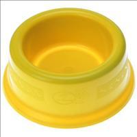 Comedouro Plástico Furacão Pet - Amarelo Comedouro Plástico Amarelo Furacão Pet 350ml - Tam 1