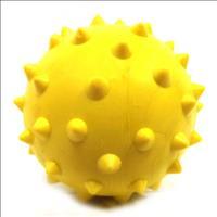 Bola Maciça Cravo Furacão Pet - Amarelo Bola Maciça Cravo Amarelo Furacão Pet - 70mm