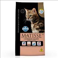 Ração Farmina Matisse Salmão para Gatos Adultos Castrados - 800gr