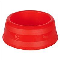 Comedouro Luxo - Vermelho Comedouro Luxo Grande Vermelho - 2500ml