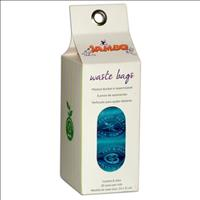 Refíl de Saquinhos para Coletar Fezes Stamp Design com 8 Rolos - Azul