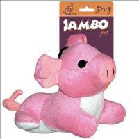 Brinquedo Pelúcia Porco Rabo - Rosa