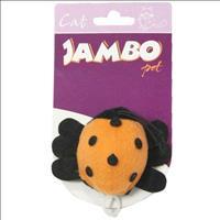 Brinquedo Jambo Cat Joaninha Vibratória
