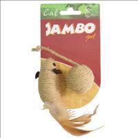 Brinquedo Rato + Bola Natural