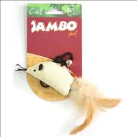 Brinquedo Rato Natural Catnip