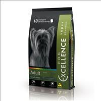 Ração Excellence Super Premium para Cães Adultos Raças Pequenas - Frango e Arroz - 10,1 Kg