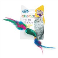 Brinquedo Peixe e Pena Carnival para Gato