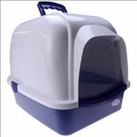Caixa de Areia Oval com Telhado - Azul