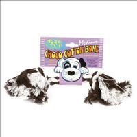 Brinquedo Choco-Holic Osso de Algodão - Médio