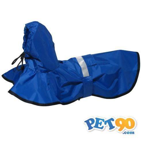 Capa de Chuva Azul - Futon Dog Capa de Chuva Azul - Tam P