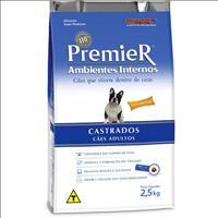 Ração Premier Pet Ambiente Interno Cães Castrados - 2,5kg