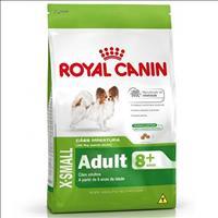 Ração Royal Canin X-Small Adulto 8+ para Cães Adultos e Idosos de Porte Miniatura - 1 Kg