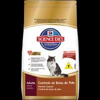 Ração Hills Science Diet Feline Adulto Controle de Bolas de Pelo - 1,5kg
