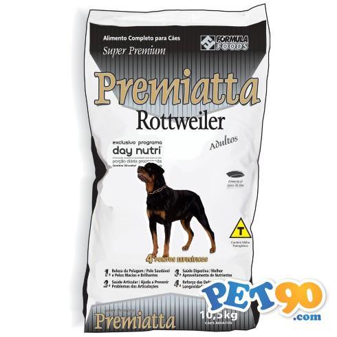 Ração Premiatta Rottweiler - 10,5kg