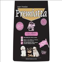 Ração Premiatta Mini Anti-Odor para Cães Filhotes de Raças Pequenas - 2 Kg