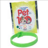 Coleira Pet 100 - Verde Coleira Pet 100 Verde - Tam P