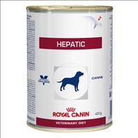 Ração Royal Canin Lata Canine Veterinary Diet Hepatic Wet para Cães com Doenças Hepaticas - 420 g