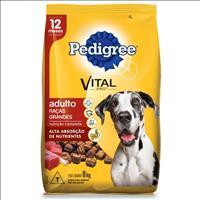 Ração Pedigree para Cães Adultos de Raças Grandes a partir de 12 Meses de Idade Ração Pedigree para