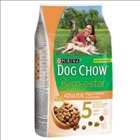 Ração Nestlé Purina Dog Chow Bem Estar Adultos Raças Médias e Grandes - 3kg