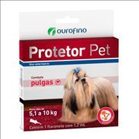 Anti Pulgas Ouro Fino Protetor Pet para Cães Anti Pulgas Ouro Fino Protetor Pet de 1,2 mL - Cães de