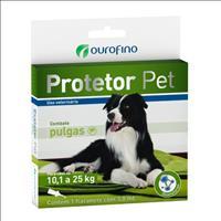 Anti Pulgas Ouro Fino Protetor Pet para Cães Anti Pulgas Ouro Fino Protetor Pet de 3 mL - Cães de 10