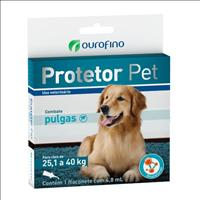 Anti Pulgas Ouro Fino Protetor Pet para Cães Anti Pulgas Ouro Fino Protetor Pet de 4,8 mL - Cães de
