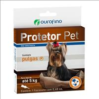 Anti Pulgas Ouro Fino Protetor Pet para Cães Anti Pulgas Ouro Fino Protetor Pet de 0,48 mL - Cães at