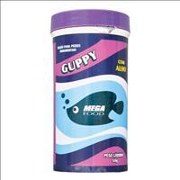 Ração Mega Food Guppy 60% - 50gr