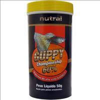 Ração Nutral Guppy 60% - 50gr
